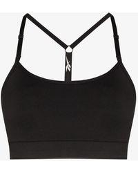 Reebok X Victoria Beckham Adjustable T-back Sports Bra - Black
