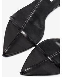 Jil Sander Caged Leather Sandals - Black
