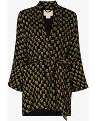 Anaak Ella Kimono Shirt - Black