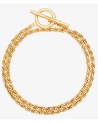 All_blues Gold Vermeil Rope Chain Bracelet - Metallic