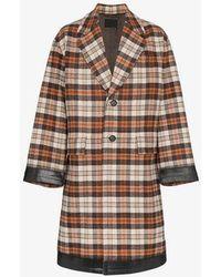 Prada - Wool Coat - Lyst