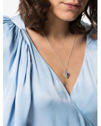 Sasha Samuel Isabela Sterling Silver Locket Necklace - Metallic
