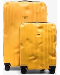 Crash Baggage Cabin Suitcase Set - Yellow