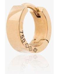 Le Gramme 18k Yellow La 1.9g Ribbon Polished Hoop Earring - Metallic