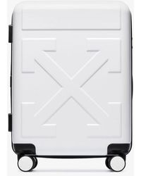 Off-White c/o Virgil Abloh Quote Cabin Suitcase - White