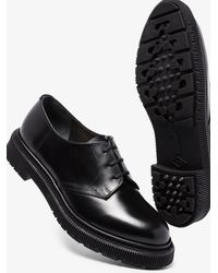 Adieu Type 123 Leather Derby Shoes - Black