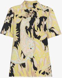 Dries Van Noten - Paisley Print Cotton Shirt - Lyst