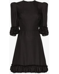 The Vampire's Wife Mini Festival Dress - Black