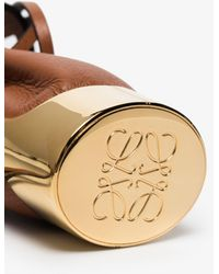 Loewe Balloon Leather Necklace Bag - Brown