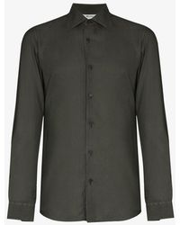 Z Zegna Button-up Shirt - Green