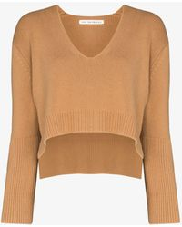 Live The Process Modus Cropped Jumper - Brown