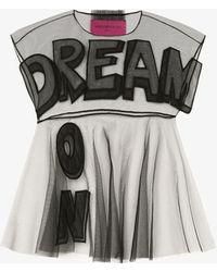 Viktor & Rolf Dream On Sheer Blouse - Black