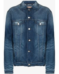Y. Project Wire Denim Jacket - Blue