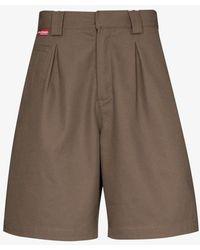 GR10K Klopman Tailored Shorts - Brown