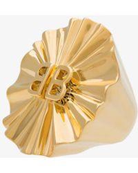 Balenciaga | License Round Fan Ring | Lyst
