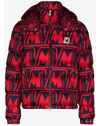 Moncler - Frioland Logo Print Padded Jacket - Lyst