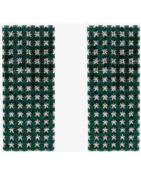 Alessandra Rich | Swarovski Crystal Embellished Earrings | Lyst