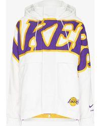 Nike X Ambush La Lakers Hooded Jacket - White