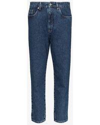 Miu Miu Straight-fit Brigitte Jeans - Blue