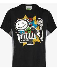 Liam Hodges Future Solution Print T-shirt - Black