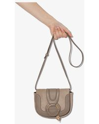 See By Chloé See By Womens Grey Hana Suede Bag