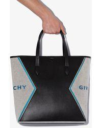 Givenchy Black Paris Bond Leather Tote Bag