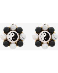 Venessa Arizaga - Flower Ying Yang Earrings - Lyst