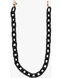 Kaleos Eyehunters Square Sunglasses Chain - Black