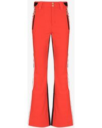 P.E Nation Amplitude Ski Pants - Red