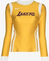 Nike X Ambush La Lakers Basketball Top - Yellow