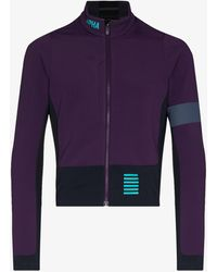 Rapha Pro Team Winter Cycling Jersey - Purple