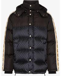 Gucci gg Padded Puffer Coat - Black