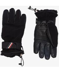 3 MONCLER GRENOBLE Mnclr Grenoble Ski Glvs - Black