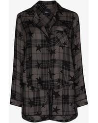 Rails Kellen Star Print Pajamas - Gray