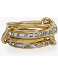 Spinelli Kilcollin - 18k Yellow Gold Lehmus Diamond Ring - Lyst