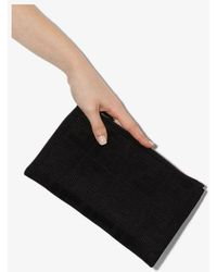 Fendi Small Ff Pouch - Black