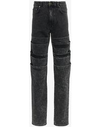 Y. Project - Layered Denim Jeans - Lyst
