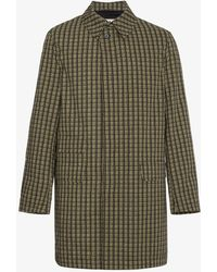Marni - Checked Coat - Lyst