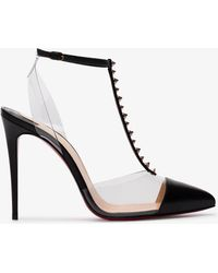 Christian Louboutin - Nosy Spike 100 T-bar Court Shoes - Lyst