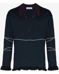 Kiko Kostadinov Norman Armour Polo Shirt - Blue