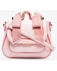 Sophia Webster - Pink Eloise Pearl Leather Shoulder Bag - Lyst