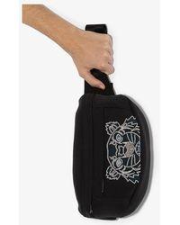 KENZO Tiger Logo Cross Body Bag - Black