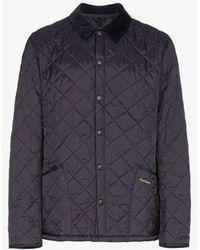 Barbour Mens Blue Heritage Liddesdale Quilted Jacket