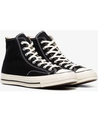 Converse - Black And White 70's Chuck Taylor Sneakers - Lyst