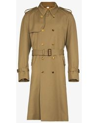 Gucci - Double-breasted Wool Trench Coat - Lyst