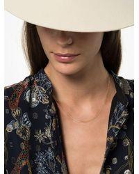 Lizzie Mandler 18k Yellow Gold Chain Necklace - - Diamond/18kt Yellow Gold - Metallic