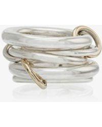 Spinelli Kilcollin Vela Interlocking Ring - Metallic
