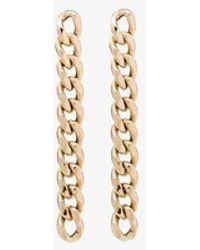 Zoe Chicco 14k Chain Drop Earrings - Metallic
