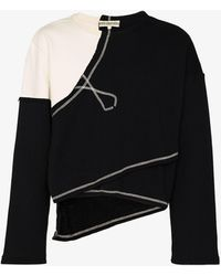 NOUNION Eagles Panelled Sweatshirt - Black