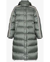 Gucci GG Supreme Padded Coat - Gray